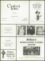 1976 Marion High School Yearbook Page 150 & 151