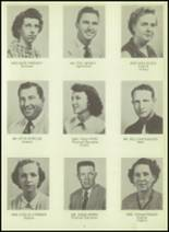 1954 Sundeen High School Yearbook Page 10 & 11