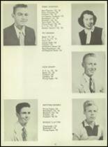 1954 Sundeen High School Yearbook Page 14 & 15