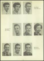 1954 Sundeen High School Yearbook Page 20 & 21