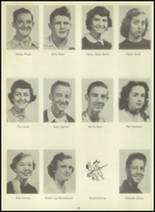 1954 Sundeen High School Yearbook Page 22 & 23