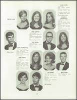 1968 Del Valle High School Yearbook Page 68 & 69