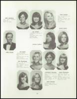 1968 Del Valle High School Yearbook Page 70 & 71