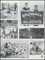 1992 Brunswick High School Yearbook Page 44 & 45