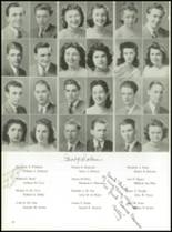 1942 Mamaroneck High School Yearbook Page 20 & 21
