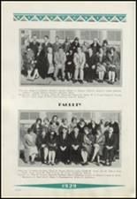 1929 Clinton High School Yearbook Page 24 & 25