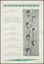 1929 Clinton High School Yearbook Page 32 & 33