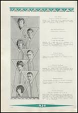 1929 Clinton High School Yearbook Page 44 & 45