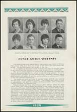1929 Clinton High School Yearbook Page 50 & 51