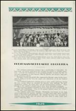 1929 Clinton High School Yearbook Page 68 & 69