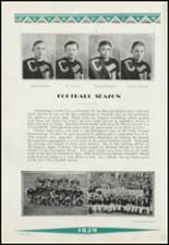 1929 Clinton High School Yearbook Page 100 & 101