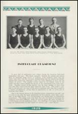 1929 Clinton High School Yearbook Page 110 & 111