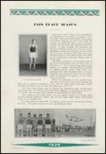 1929 Clinton High School Yearbook Page 112 & 113