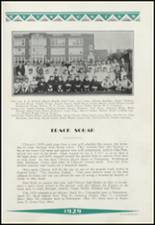 1929 Clinton High School Yearbook Page 114 & 115