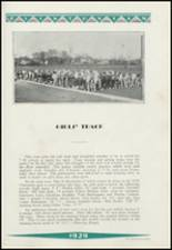 1929 Clinton High School Yearbook Page 122 & 123