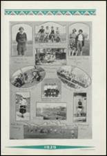 1929 Clinton High School Yearbook Page 124 & 125