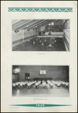 1929 Clinton High School Yearbook Page 126 & 127