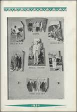 1929 Clinton High School Yearbook Page 138 & 139