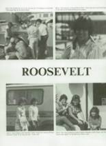 1984 Roosevelt High School Yearbook Page 84 & 85