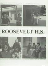 1984 Roosevelt High School Yearbook Page 92 & 93