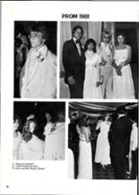 1981 Columbia High School Yearbook Page 40 & 41