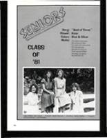 1981 Columbia High School Yearbook Page 180 & 181