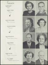 1947 Cleburne High School Yearbook Page 14 & 15