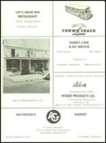 1961 Goodman High School Yearbook Page 64 & 65