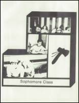 1981 Sissonville High School Yearbook Page 54 & 55
