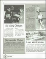 1992 Westminster Academy Yearbook Page 20 & 21