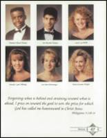 1992 Westminster Academy Yearbook Page 50 & 51