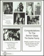 1992 Westminster Academy Yearbook Page 214 & 215