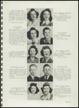 1943 Clover Park High School Yearbook Page 14 & 15