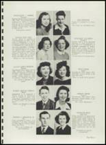 1943 Clover Park High School Yearbook Page 16 & 17