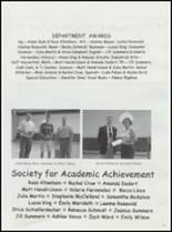 2001 Unity High School Yearbook Page 16 & 17