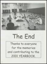 2001 Unity High School Yearbook Page 104 & 105