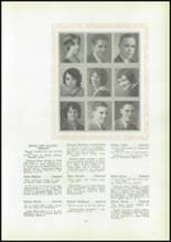 1930 Pittsburg High School Yearbook Page 24 & 25