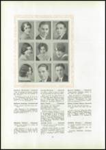 1930 Pittsburg High School Yearbook Page 26 & 27