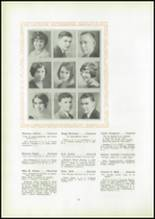 1930 Pittsburg High School Yearbook Page 30 & 31