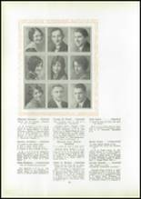 1930 Pittsburg High School Yearbook Page 32 & 33