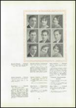1930 Pittsburg High School Yearbook Page 34 & 35