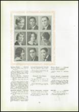 1930 Pittsburg High School Yearbook Page 36 & 37