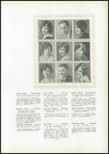 1930 Pittsburg High School Yearbook Page 38 & 39