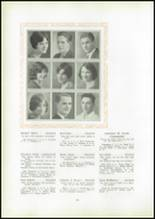 1930 Pittsburg High School Yearbook Page 42 & 43