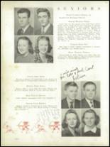 1939 Needham Broughton High School Yearbook Page 34 & 35