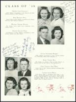1939 Needham Broughton High School Yearbook Page 36 & 37