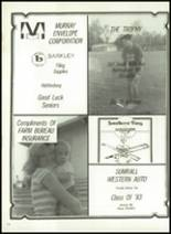 1983 Sumrall High School Yearbook Page 154 & 155