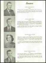 1957 Stearns High School Yearbook Page 10 & 11