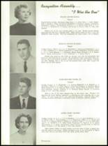 1957 Stearns High School Yearbook Page 24 & 25
