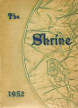 1952 Yearbook Mother Cabrini High School